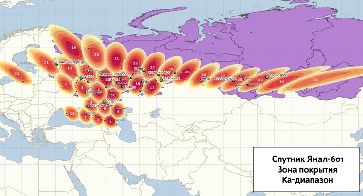 Yamal-601-Karta